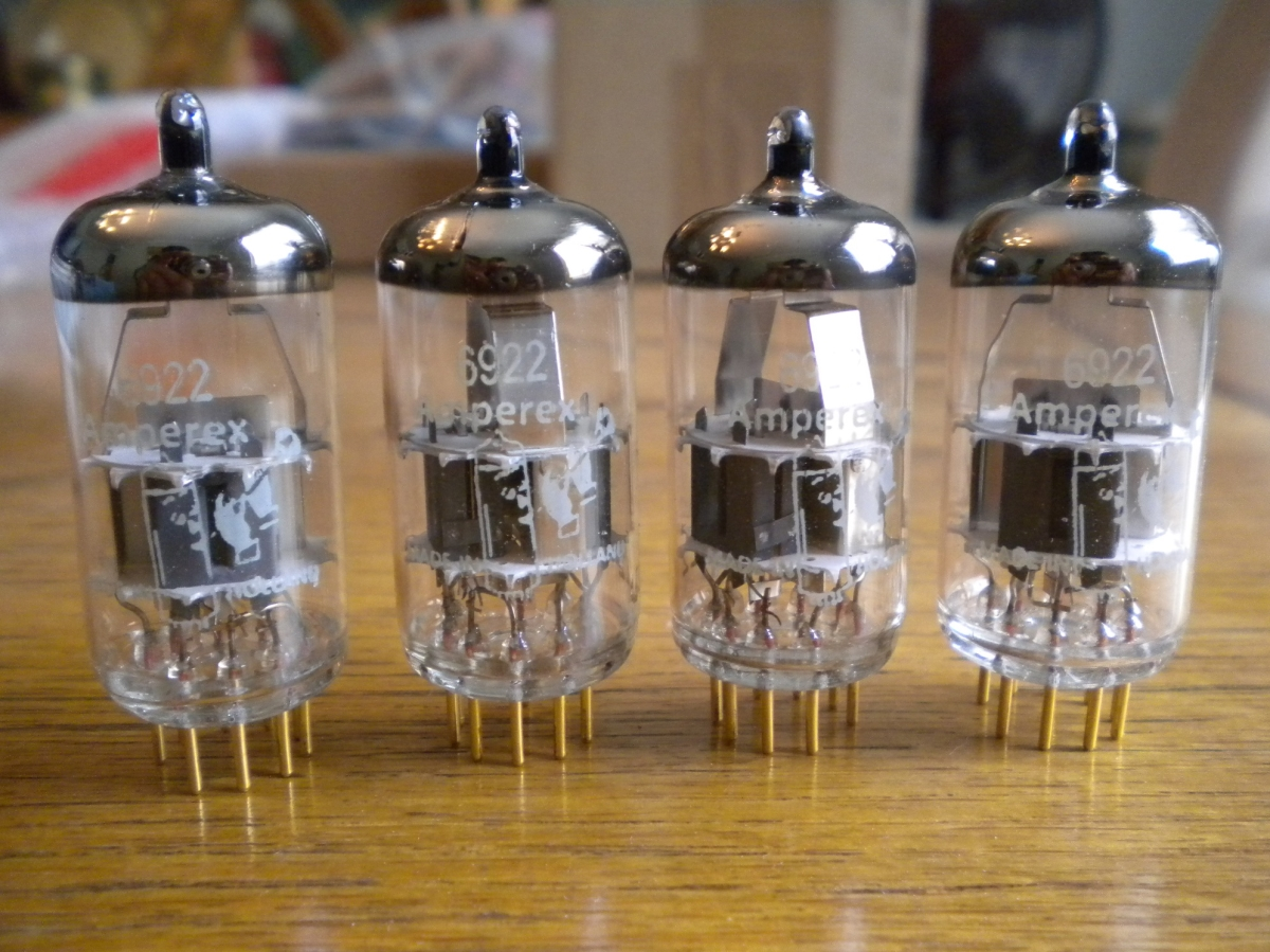 6DJ8 Tubes From Brent Jessee Recording